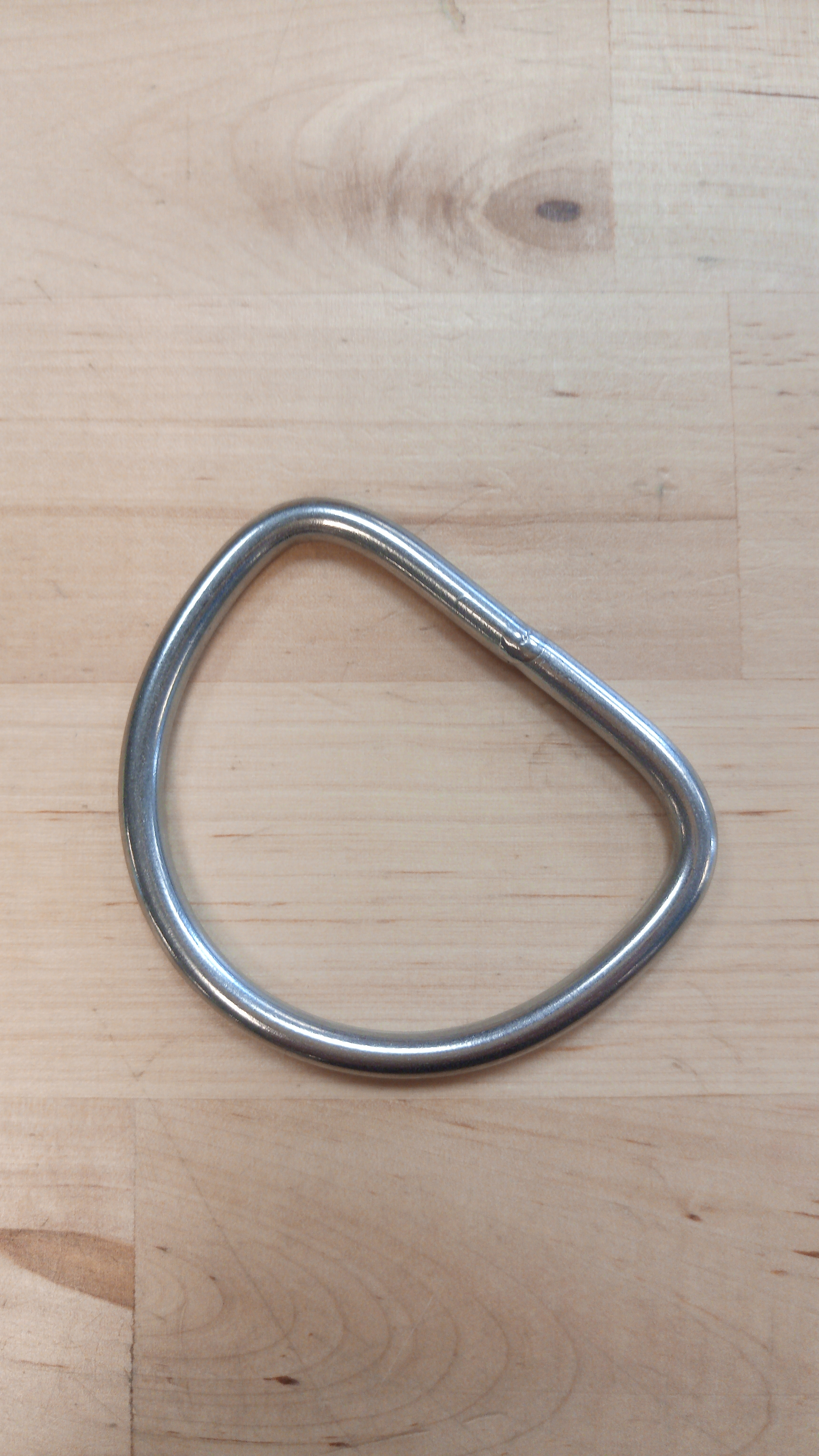 RVS D-ring removable W 60mm x H 50mm